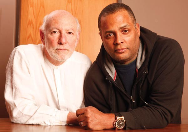 "The Gammage Project playwright Attilio ""Buck"" Favorini (left) and director Mark Clayton Southers revisit the tragic case of black motorist Jonny Gammage."