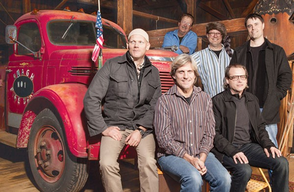 The Gathering Field Clark Slater, Bill Deasy, Ray DeFade, Dave Brown, Eric Riebling, John Burgh