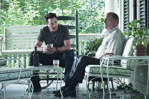 The Judge Film, Robert Downey Jr. and Robert Duvall