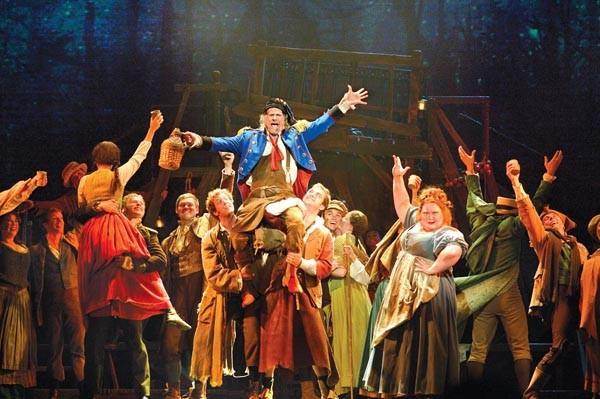 "The Les Misérables cast asks, ""Where did the rest of the Broadway production go?"""