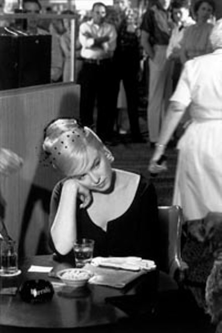 """The lonely crowd: """"Marilyn Monroe on the Set of The Misfits"""" (1960), by Henri Cartier-Bresson"""