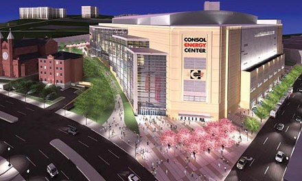 The master plan process to decide what will be built around the city's new Consol Energy Center has stalled, according to officials.