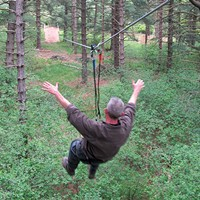 The new Go Ape! adventure course in North Park delivers a tree-top work-out