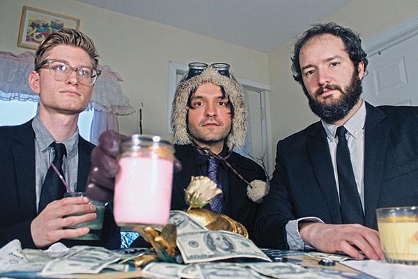 The Phantom Family Halo (Dominic Cipolla, center)