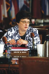 The race for Darlene Harris' District 1 City Council seat is expected to be one of the city's most heated. - HEATHER MULL