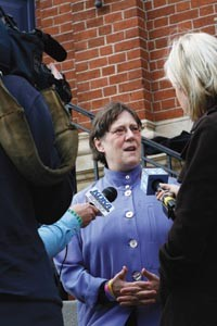 The Rev. Janet Evans was acquitted for holding a same-sex wedding ceremony. - HEATHER MULL