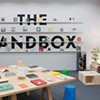 The Sandbox is a pop-up bookstore — and much more — in the Carnegie's old coatroom