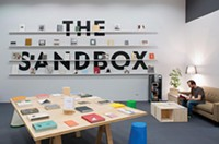The Sandbox pop-up bookstore Oakland PA