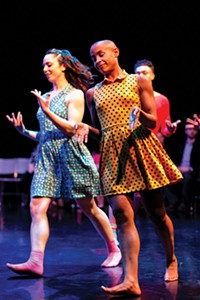 """The Staycee Pearl Dance Project performs """"Playground."""""""