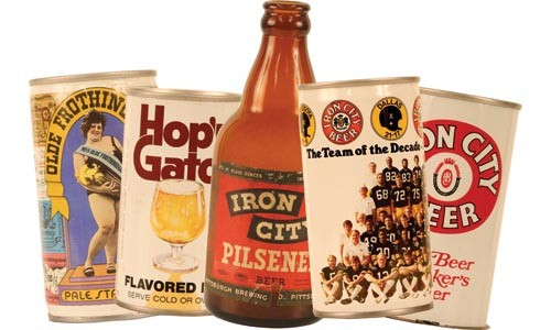 These vintage cans and bottles are housed in the the Heinz History Center. - HEATHER MULL