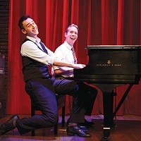 <i>Murder for Two</i> at CLO Cabaret