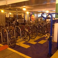 Third Avenue bike station offers free bike parking, and now, secure leasing