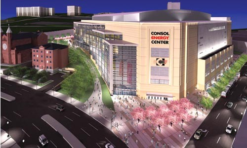 This is what designers say the new Consol Arena will look like. Hill District residents, though, want to make sure they have input on how the surrounding neighborhood should look.