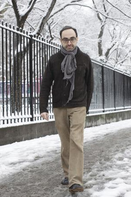 This new nebbish: Gary Shteyngart. - PHOTO COURTESY OF BRIGITTE LACOMBE
