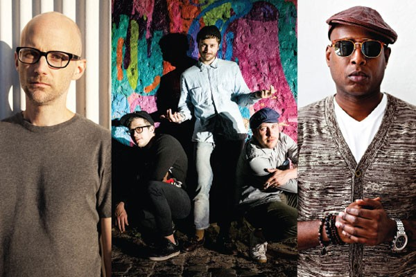 Thrival headliners include Moby, Portugal. The Man and Talib Kweli