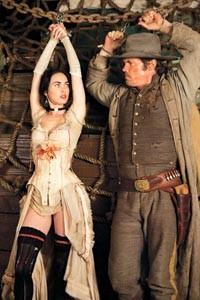 Tied up: Megan Fox and Josh Brolin