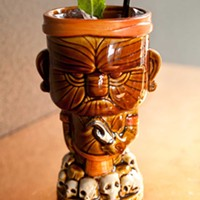 Grit & Grace Tiki cocktail Photo by Heather Mull