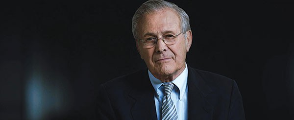 """Time will tell"": Former Secretary of Defense Donald Rumsfeld"