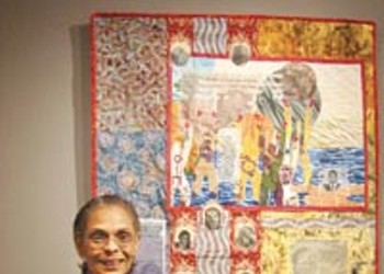 Fabric artist Tina Williams receives one of the Pittsburgh Center for the Arts' rare Lifetime Achievement Awards.