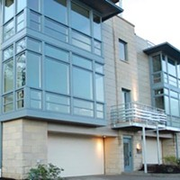 New Townhouse Development Builds on the South Side Slopes