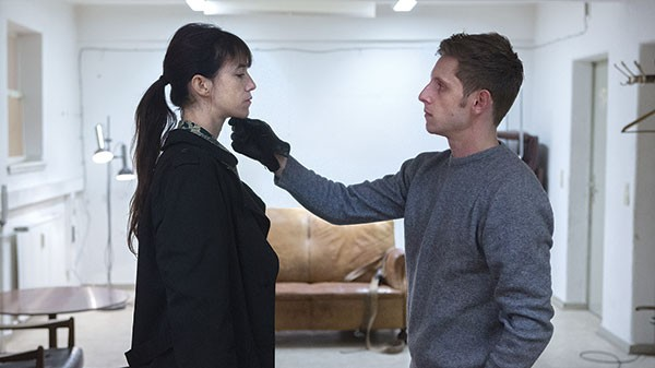 Touching: Charlotte Gainsbourg and Jamie Bell