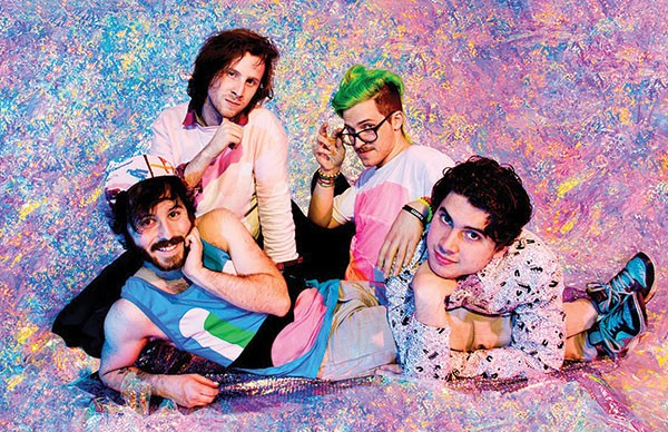 Touring is a video game: Anamanaguchi