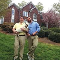 Travis Hunt and Stephen Simpson