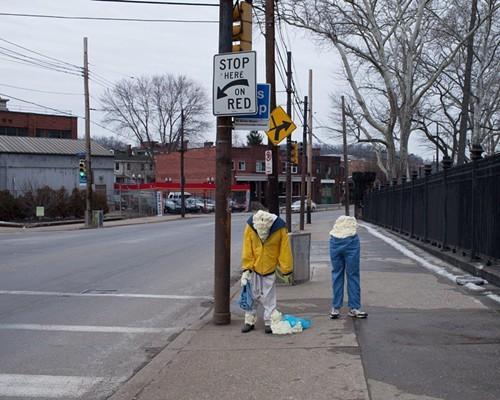 Travis Mitzels Bus Stop