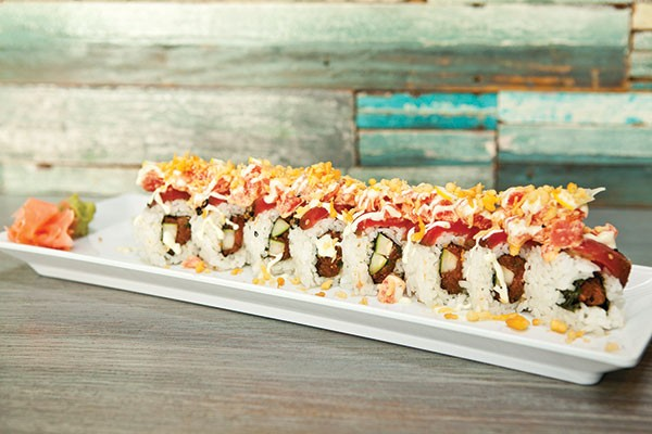 Triton Triple Tuna Roll - PHOTO BY HEATHER MULL