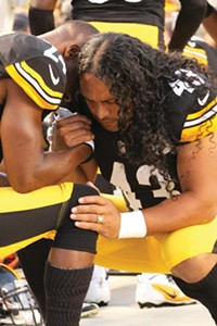 Troy Polamalu and Ike Taylor again lead the Steelers secondary. - PHOTO BY HEATHER MULL