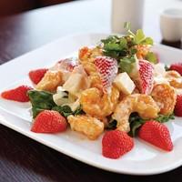 Tutti Frutti shrimp salad