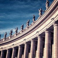 The hierarchy of the Catholic Church