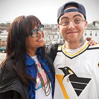 Michelle and Mac at City Paper's 2013 photoshoot