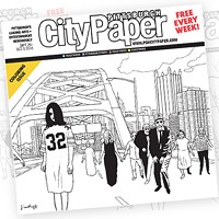 This week's <i>Pittsburgh City Paper</i> Coloring Issue cover