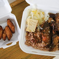 No frills needed Leon's Caribbean in Allentown