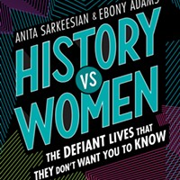 Authors Anita Sarkeesian and Ebony Adams speak at Carnegie Lecture Hall on Oct. 3