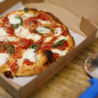 Frankstown Wood-Fired Pizza perfects the art of the traditional Italian margherita pie