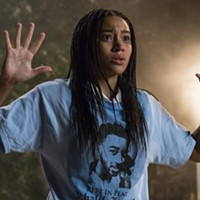 Amandla Stenberg as Starr in <i>The Hate U Give</i>