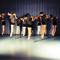 Slippery Rock University dance majors in Lindsay Fisher Viatori's 'Undercurrent'