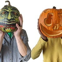 Decorating Halloween pumpkins for under $25
