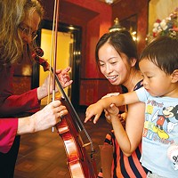 The Pittsburgh Symphony Orchestra participates in a sensory-friendly concert at Heinz Hall.