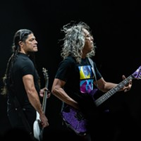 Robert Trujillo and Kirk Hammett