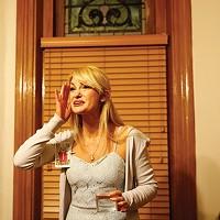 Cast member Ashley McKinney in Hollow Moon