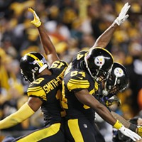 JuJu, AB, and Conner celebrate yet another score.