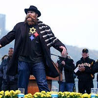 "Former Pittsburgh Steelers Brett Keisel at ""Stronger than Hate: A Gathering of Compassion, Unity and Love"""