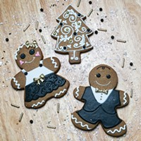 Pittsburgh holiday cookies from Bella Christie and Lil' Z's Sweet Boutique in Lawrenceville