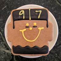 Cam Heyward's Smiley Cookie