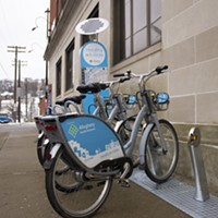 Healthy Ride started with 50 docking stations in 2015; this week, they reached 100