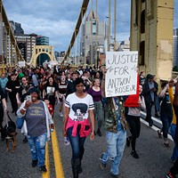 June protest in Pittsburgh following Antwon Rose Jr.'s death