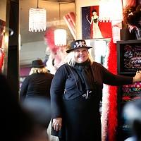 Backstage with costume designer Suz Pisano